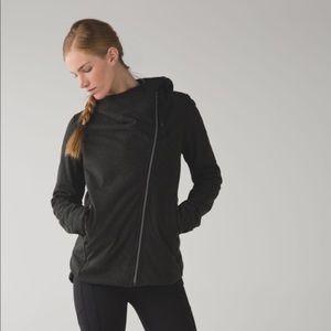 Lululemon cozy up buttercup jacket black